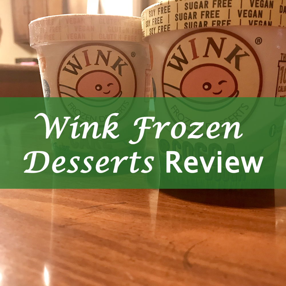 Wink Frozen Desserts Keto Ice Cream Review