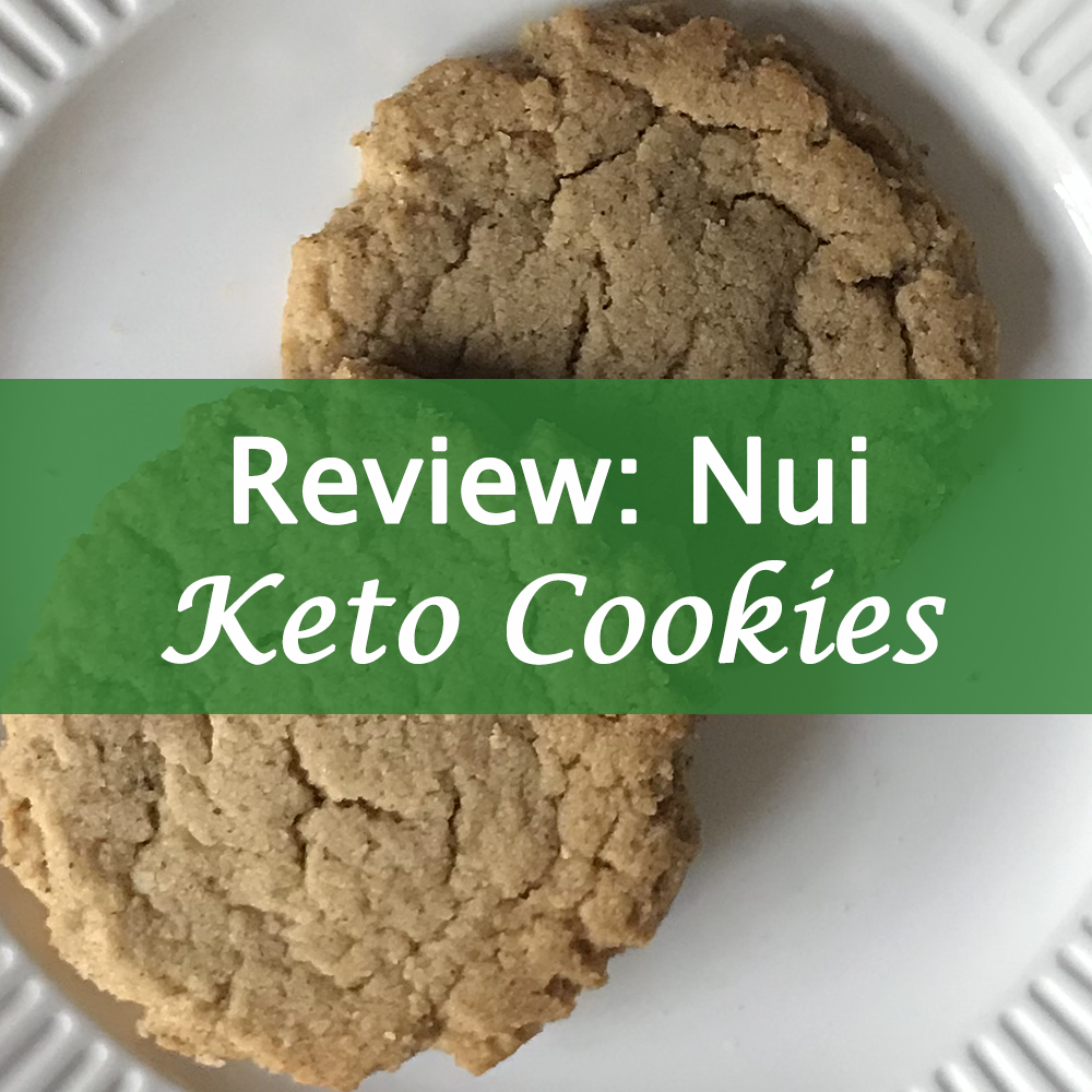 Nui cookies review - keto cookies from Shark Tank