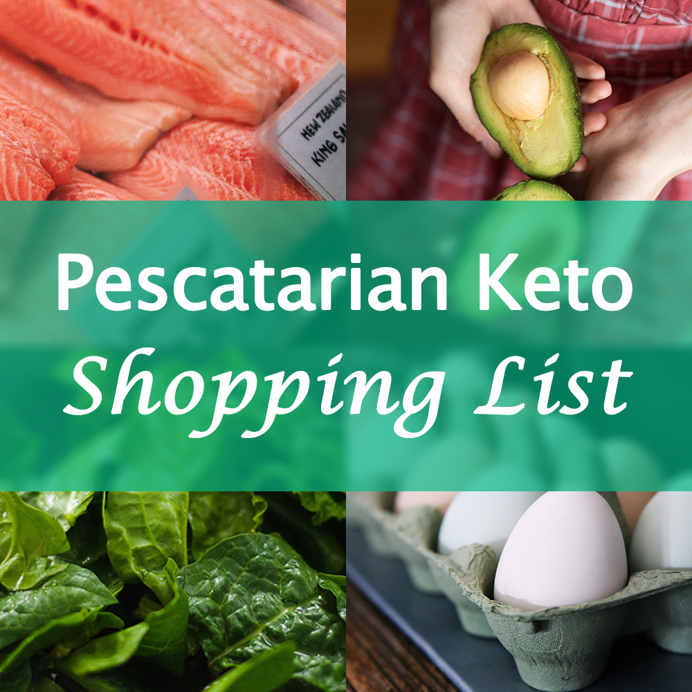 Pescatarian Keto Food List
